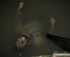 【グロ注意】酔い覚ましに皮で泳いでたDQNの末路・・・ 閲覧注意