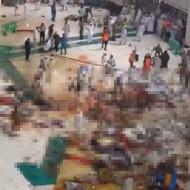 【グロ注意】107人が一瞬にして肉塊になったクレーン落下事故の現場映像・・・