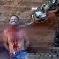 【グロ画像】チェーンソーで輪切りにされた死体がこれ・・・ 閲覧注意