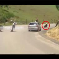 【DQN事故】DQN「山道でスケートレースしよっとうえーいwww」→結果