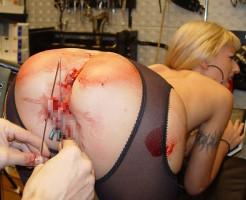 【エロ拷問】おっぱいやマ●コに針ぶっ刺して喜ぶ美女がコチラ