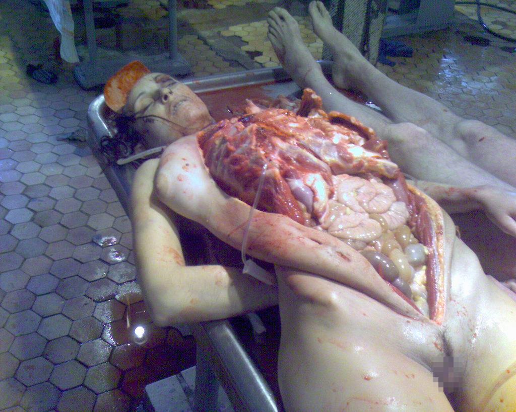 女性全裸死体 無修正 女の子 死体 解剖 グロ画像