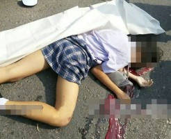 【JK死体】制服のまま事故死した女子高生の画像集めてみた・・・ ※閲覧注意