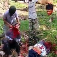 【グ○動画】イスラム教信者が少年の首を切り落とす高画質動画・・・
