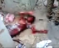 【子供死体】空爆直後の街にインタビュー行ったら血まみれの子供おった件・・・ ※グ◯動画