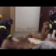 【超閲覧注意】ガスマスク付けて死体処理するぐらい悲惨な現場ってどんなところか見たことある?