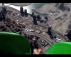 【おもしろ】ドバイにある世界最大傾斜のウォータースライダー行ってきたwww