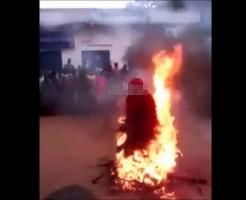 【アツアツ】炎に飛び込んでひたすら耐える祭りに参加してきた ※衝撃映像