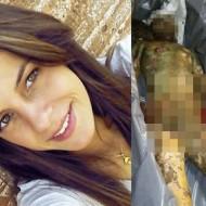 【グロ画像】レ●プ殺人・・・川に遺棄され体が肥大した女性の遺体