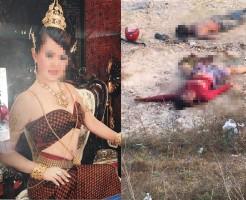 【女死体】好みの踊り子だったから後をつけてレイプして殺した。今は満足している。 ※グロ画像