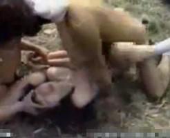 【ガチレイプ動画】制服JKが田舎道でワンボックスで拉致られ号泣しながら犯される輪姦ハメ撮り…