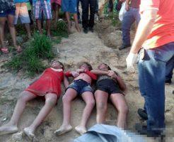 【ロリ 死体】9、10、13歳の3姉妹が溺れて死ぬ悲劇・・・ ※画像