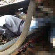 【衝撃映像 グロ画像】電車に飛び込んだ女が奇跡的に生還できる体勢を発見した模様 脚切断したけど