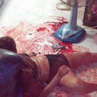 【グロ画像】床にある血の跡たどっていったら女の死体が転がってた・・・