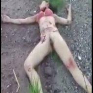 【レイプ死体】犯した後は首切ってポイー 夜に一人歩きしてた女の子の末路・・・ ※グロ動画