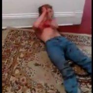 【驚愕】血まみれ男「○!※□◇#△!」これはアカン・・・血まみれでなんか叫んでる男がガチでヤバすぎる ※動画