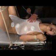 【凌辱レイプ動画】電流責めで痙攣する女子大生のマンコとアナルに肉棒2本同時にぶち込む地獄