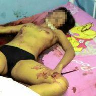 【グロ画像】彼氏「オラオラオラオラ死ね死ね死ね死ねサクサクサクサク」→二十歳の大学生の彼女をめった刺しに・・・