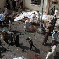 【自爆テロ】53人が死亡した人が大量に集まってる場所で発生したテロの瞬間とその後がこれ・・・