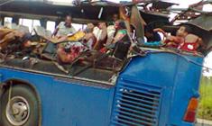 【閲覧注意】今年3月に起きた20人死亡バス事故の流出画像がマジでヤバい