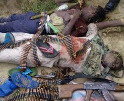 【グロ画像】外務省の危険・スポットレベル4(MAX)で活動してるテロリストと政府軍が戦闘した結果
