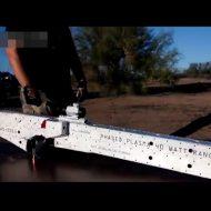 【衝撃映像】自家製プラズマライフルの試射するからちょっと見に来てくれ!