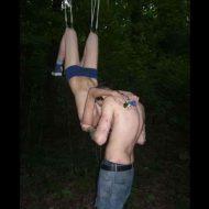 【閲覧注意】ボディサスペンション(皮膚にフック通して吊り下げる)が趣味になったカップルをご覧ください・・・ ※画像