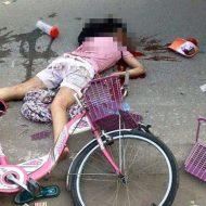 【閲覧注意】ミキサー車に轢かれた時の少女はこんな感じになる・・・・・