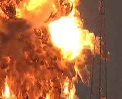 【衝撃映像】ふぁーwww200億円のフェイスブック人工衛星が大爆発して一瞬でゴミのようだwww