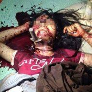 【グロ注意】16歳少女をレイプしようとして失敗、首にナイフぶっ刺して死姦・・・