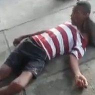【閲覧注意】ちょっとした喧嘩が殺人事件に発展した瞬間を撮影!人ってこんなに簡単に死ぬんだな