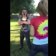 【衝撃動画】男顔負けの女の戦いwww「おにゃの子でも、やるときゃやるんだからね!」ってガチ過ぎヒイタwwwww
