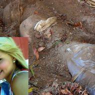【グロ画像】19歳の女の子の焼かれて埋められてた死体掘り起こしてきた 閲覧注意