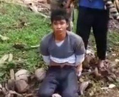 【グロ動画】子供でも容赦なし!ISISに捕まったら容赦なく首を落とされる・・・