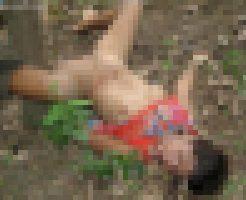 【レイプ死体】5人に集団レイプされて正常位のまま死んでる女の子・・・