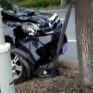 【衝撃映像】これ事故車という名のボーリングの玉なんだよwで、ピンってのはもちろん人間なwさぁ何本倒したでしょうか?