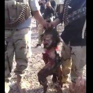 【イスラム国】シリアの友達から自爆テロで首しか残らなかったISISさんと一緒に記念撮影した動画が送られてきたんだが・・・ ※グロ動画