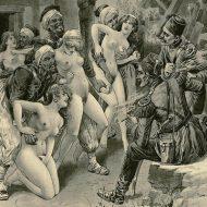 【レイプ】オスマン帝国軍が支配領域でレイプしまくってる絵画見つかったwww