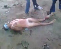 【動画】カルテル処刑現場の要約:助けて・・・助けてクレメンス・・・。脚切り落とすンゴ。