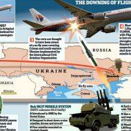 【画像】298人が死亡したウクライナ軍に撃墜されたマレーシア航空の墜落現場