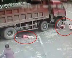 【衝撃映像】生還者妹一人 幼女と人妻が一瞬で死ぬ瞬間をご覧ください・・・