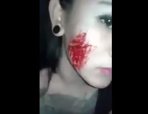 【メンヘラ】構ってちゃん極めたビッチが自傷行為自撮りアピールしてくる助けて 動画
