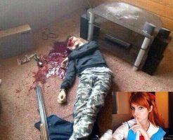 【グロ画像】エヴァのアスカ好きの高校生がショットガンで頭ぶち抜いて自殺する修羅の国がロシア