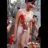 【新婚レイプ】初夜前にフリータッチイベントで花嫁さん触り放題wwwちょっと中国の結婚式行ってくる