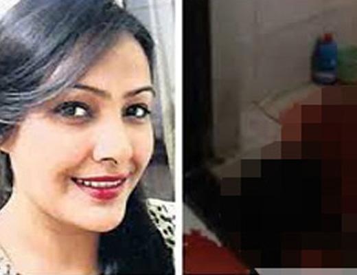 【閲覧注意】レ●プされた事を苦にして自殺したインドの有名美人モデルが死ぬ瞬間