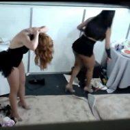 【盗撮映像】メキシコのダンサーの楽屋の着替え風景を撮ってきたぞ!