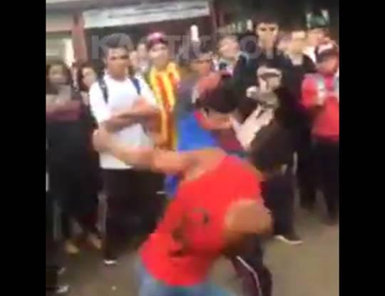 【衝撃映像】喧嘩は、あかんねやで!死ぬ事もあるんやで!