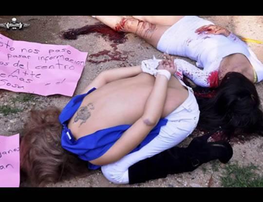 【グロ 動画】美女たちによる自殺、事故、斬首、バラバラ、レ●プ死体まとめてみた
