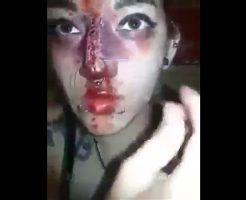 【閲覧注意】リスカが比べ物にならんぐらいの自傷癖持ち合わせた女がプロモーションビデオうpしだしたんだが・・・