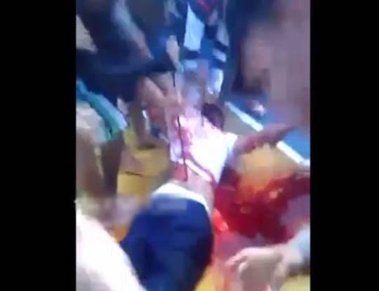 【グロ 動画】参加者30人超!みんなでやれば怖くないブラジル式死体解体講座に参加してみたよ!!